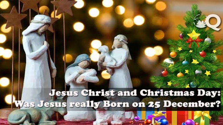 Jesus Christ and Christmas Day